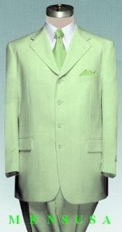Faded Mint Green Suit