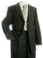Designer pinstripe Suit