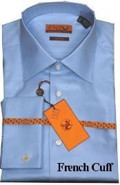 Shirt Blue Twill French