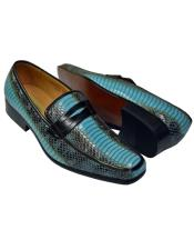 Antonio Synthetic Fashion Turquoise