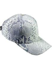 ID#NM900 Genuine Natural Alligator Exotic Skin Ostrich CACHUCHA DE COCODRILO Baseball Cap
