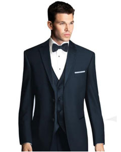 navy blue colored Tuxedo