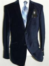 Velvet navy blue colored By Giorgio Cosani men's & Boys Sizes Best Cheap Blazer Suit Jacket For Affordable Cheap Priced Unique Fancy For Men Available Big Sizes on sale Men Affordable Sport Coats Sale