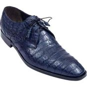 ID#KA6787 Full Gator Belly Dress Cheap Priced Exotic Skin Shoes For Sale For Men – navy blue colored