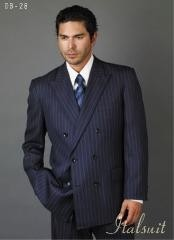 blue colored Suit With