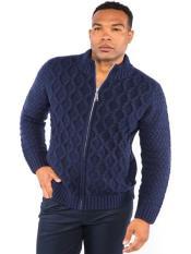 Full Zip Classic Knit