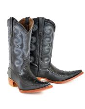 ID#DB22151 Ostrich Botines Para Hombre Shoes Negro Bota Hombre Imitacion Dress Cowboy Boot Cheap Priced For Sale Online