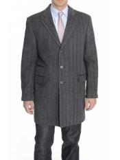 Charcoal Gray Notch Lapel