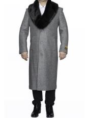 Fur Collar Long mens