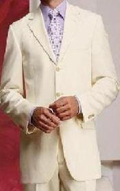 Cream Light Weight Four Season Suit