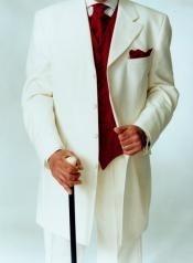 Cream Fashion Suits for Men