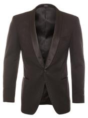 Shawl Lapel 1 Button
