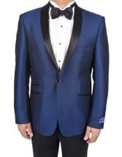 1 Button Tuxedo Solid