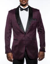 1 Button Tuxedo Fancy