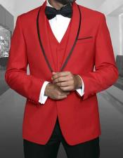 ID#NM14165 Men's 1 Button Best Inexpensive ~ Cheap ~ Discounted Blazer Suit Jacket For Affordable Cheap Priced Unique Fancy For Men Available Big Sizes on sale Men Dinner Jacket Christmas Red Sport Coat With Sport Coats Sale