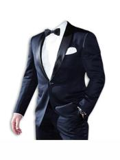 Lapel One Button Suit