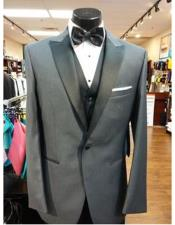 Grey 1 Button Suit