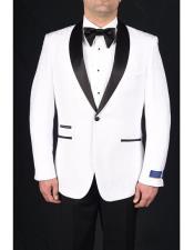 1 Button Tuxedo Modern