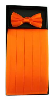 Pure Silk Solid Orange