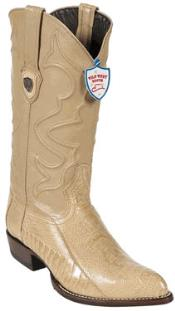 ID#NS6730 Wild West Ivory Ostrich Leg Western Dress Cowboy Boot Cheap Priced For Sale Online