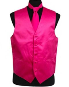 Tie Combo Hot Pink