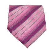 Striped Neck Groomsmen Ties