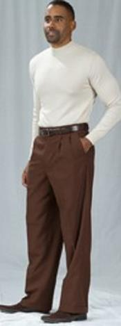 Baggy Fit Dress Pants