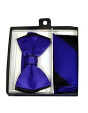 Black/Purple Satin Dual Colors