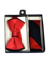 Black/Red Satin Dual Colors