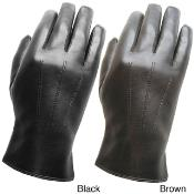 Leather skin Gloves Dark