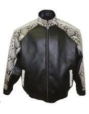 Python Snake Skin Jacket