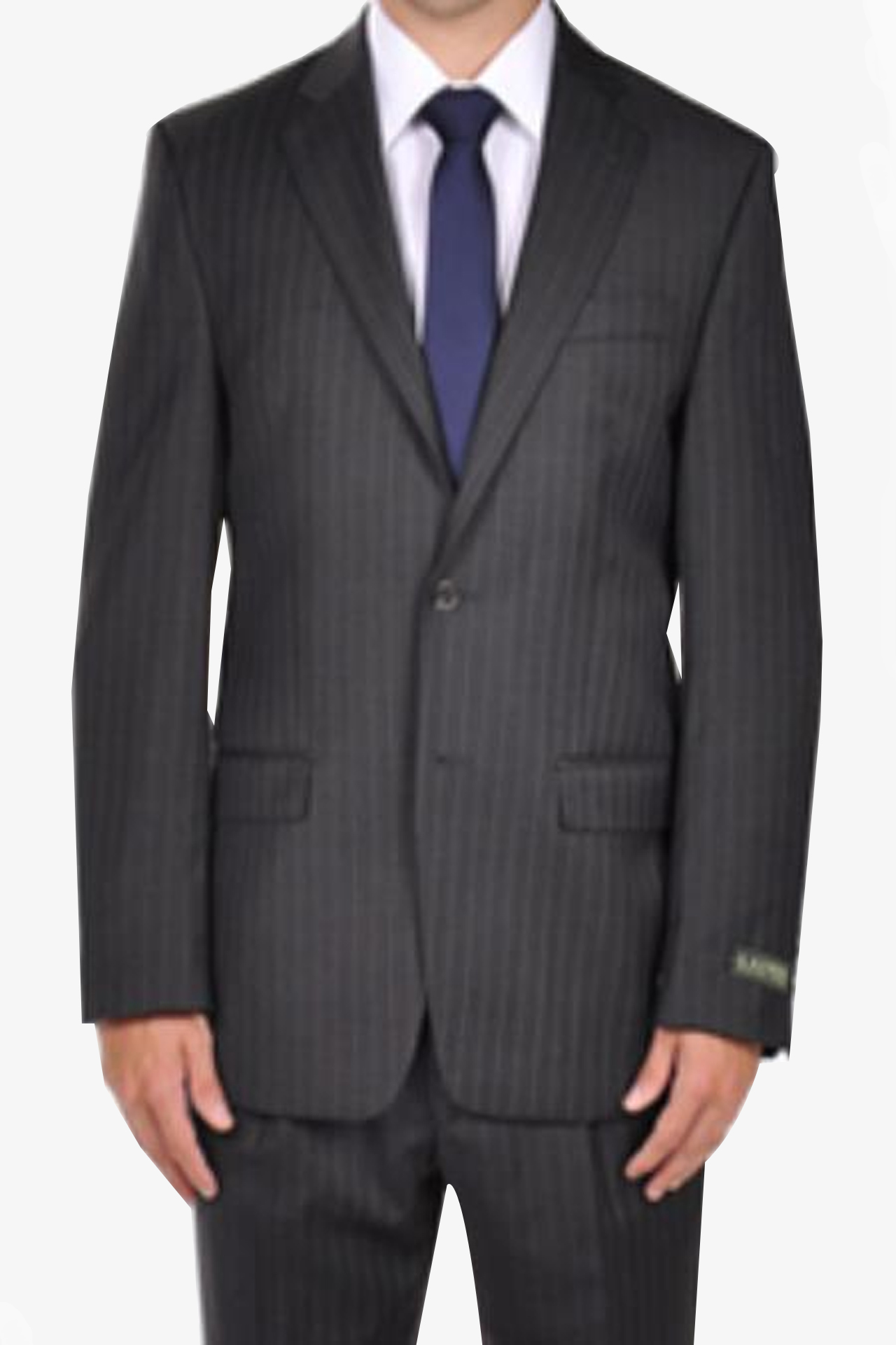 Grey Pinstripe Dress Suit