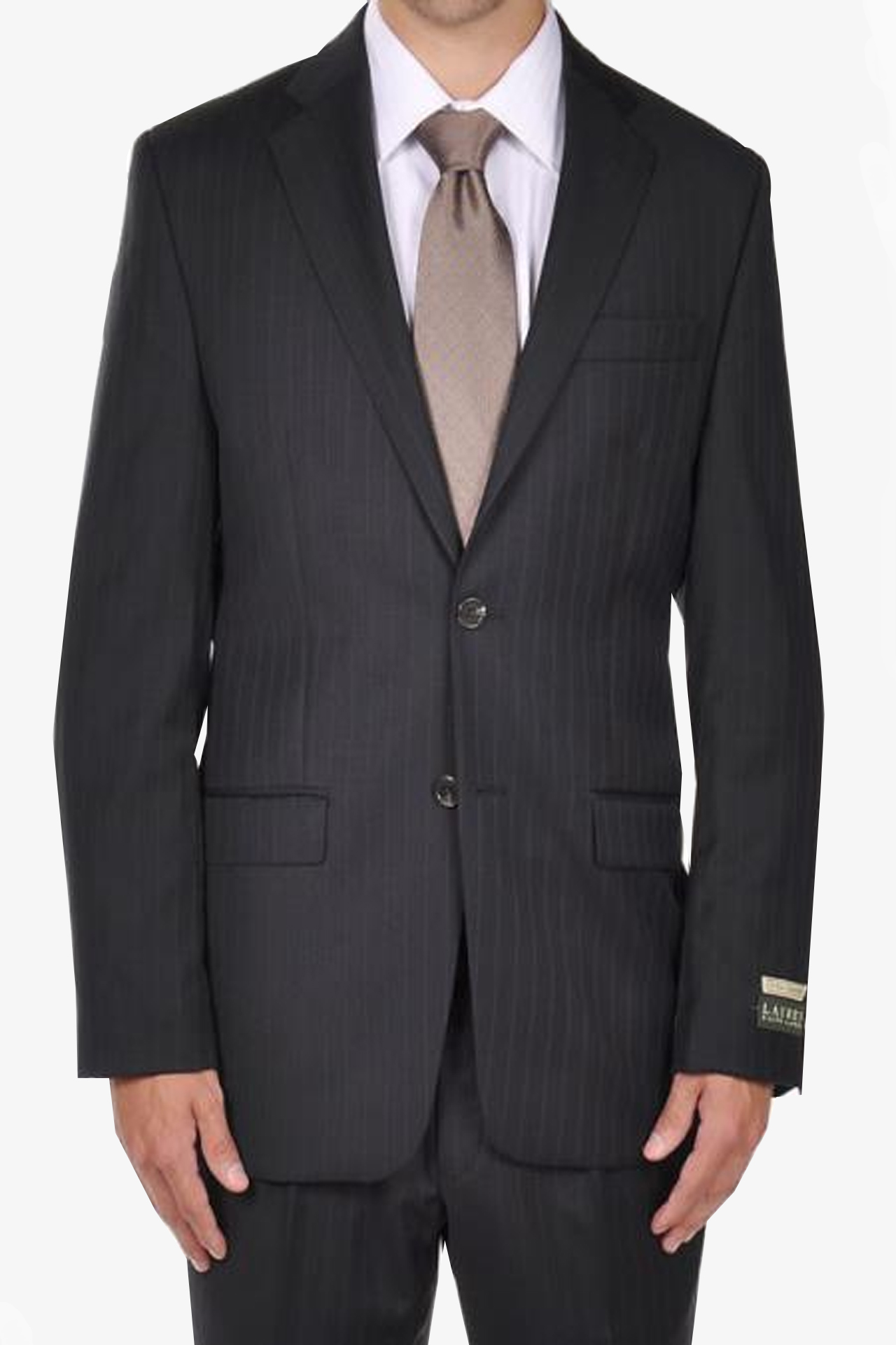 Navy Pintripe Dress Suit