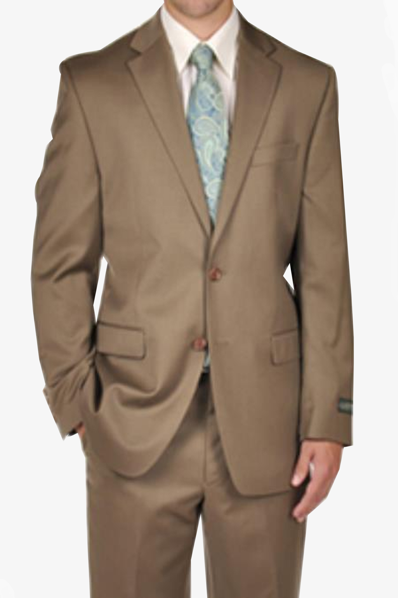 Tan Wedding Beige Suit