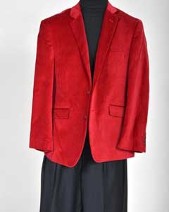 Sport Coat- Christmas Red