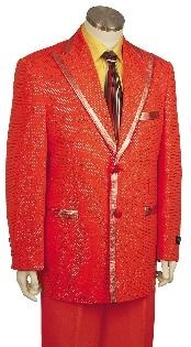 Zoot Suit Red Prom