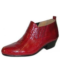 Genuine snake skin Boots