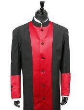 Long length Robe red