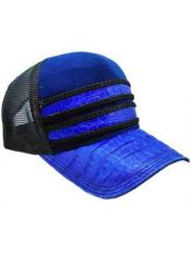 Royal Blue/Black Alligator Exotic