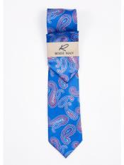 Blue New Paisley Pattern
