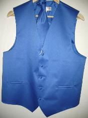 BLUE Groomsmen Wedding Vest