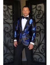 Fashion Paisley Print Tuxedo
