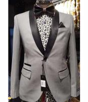 Silver Slim Fit Two