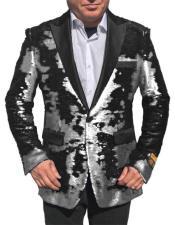 Sequin Glitter  Tuxedo