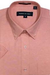 Dress Shirt Peach Basic
