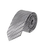 Silver Woven Tinsel Stripe