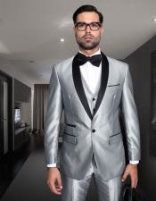Silver-Gray-Shiny-Sharkskin-Suit