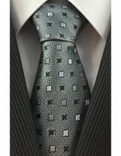 Silver Grey Trendy Necktie