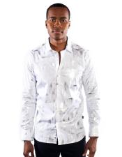 Fit Button Down Silverwood