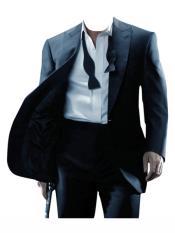 Tuxedo Button Closure